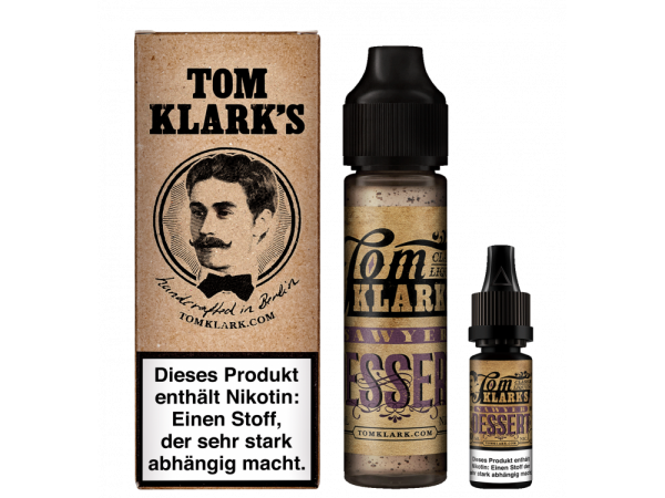 Tom Klark´s - Dessert 50ml + 10ml Shot Bundle