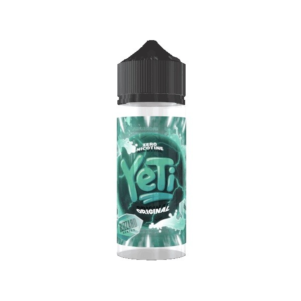 Yeti - Blizzard Original 0mg/ml 100ml Shortfill