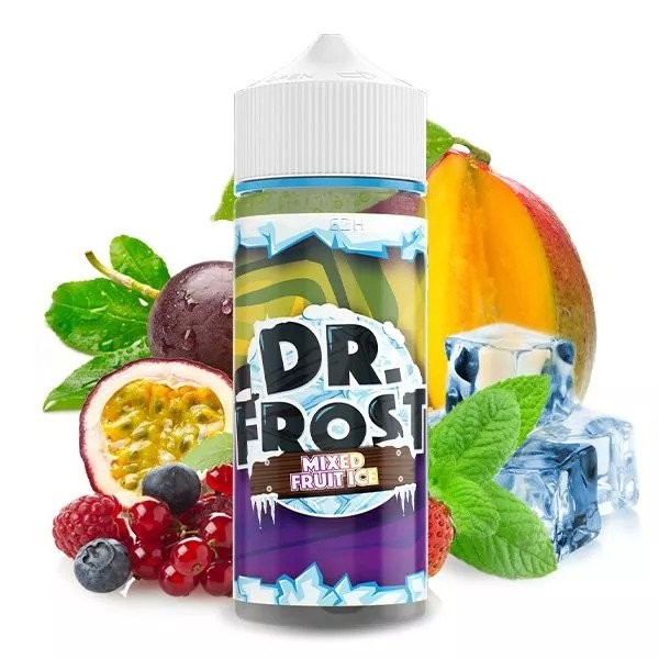 Dr. Frost - Mixed Fruit Ice 100ml Shortfill 0mg/ml