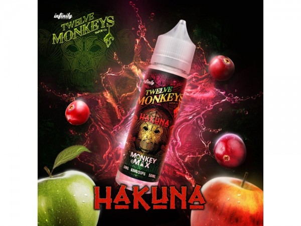 Twelve Monkeys - Hakuna 50 ml Shortfill
