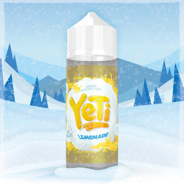 Yeti - Lemonade 0mg/ml 100ml Shortfill